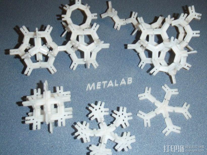 Metabrick 3D打印模型渲染图