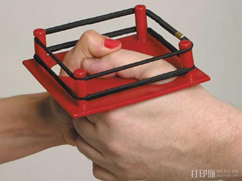 拇指角斗场 3D打印模型渲染图
