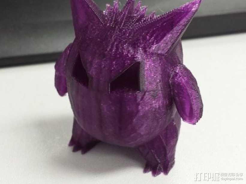耿鬼 3D打印模型渲染图