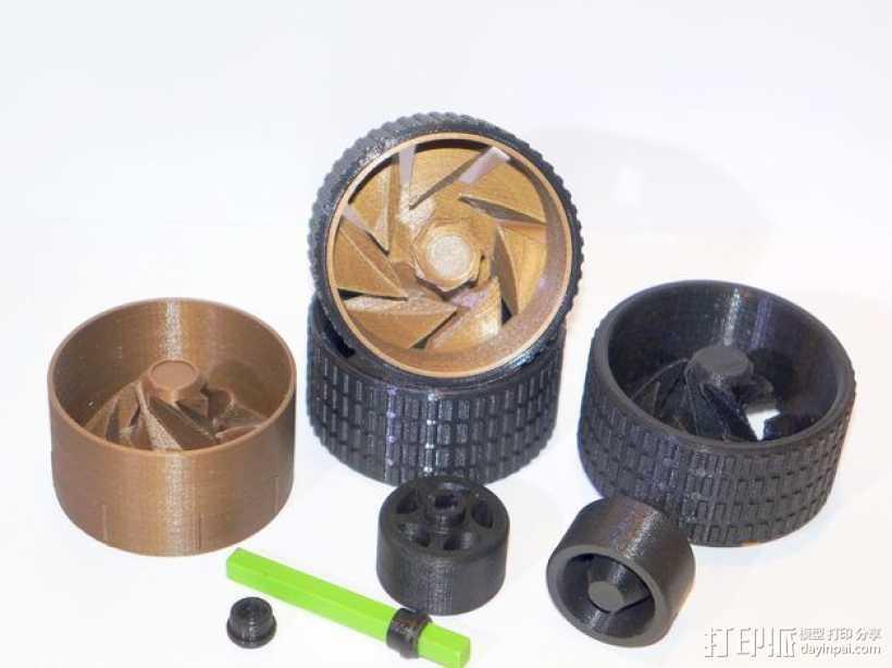 轮胎工具包 3D打印模型渲染图
