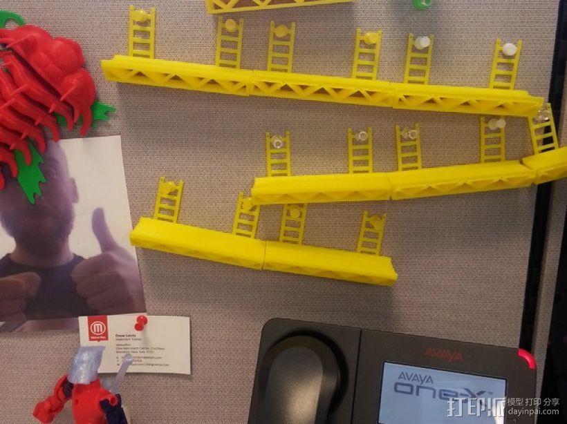 坡道模型 3D打印模型渲染图