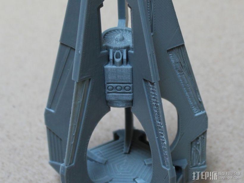 《星际战士》空投舱 3D打印模型渲染图