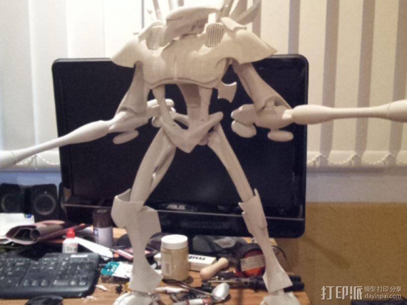 泰坦 3D打印模型渲染图
