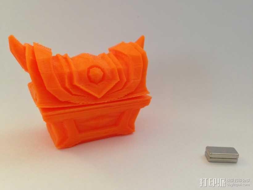 Zelda磁力金库 3D打印模型渲染图