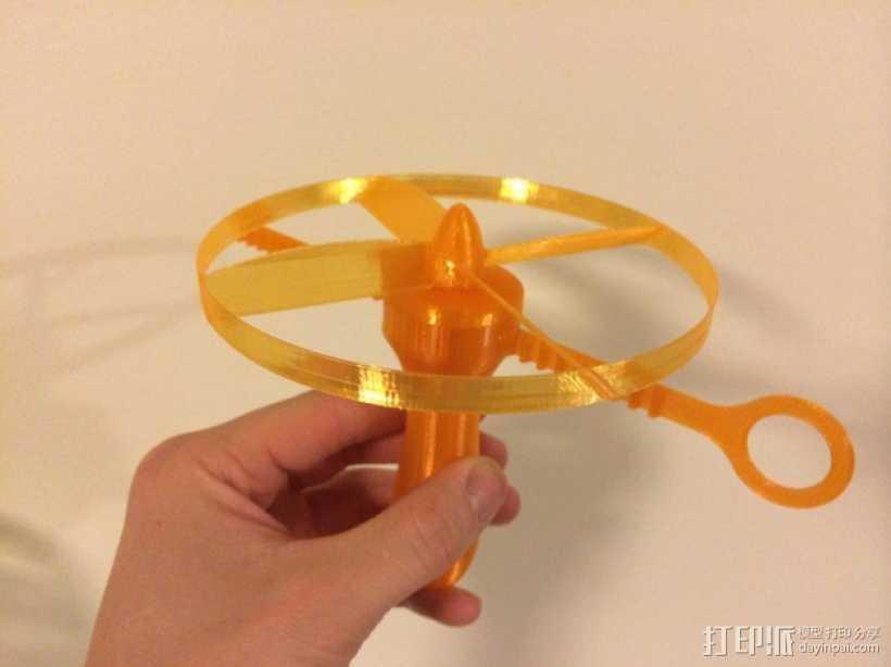 螺旋发射器 3D打印模型渲染图