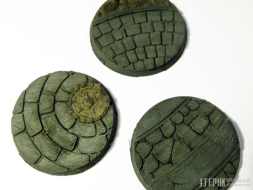 战争游戏基地 3D打印模型渲染图