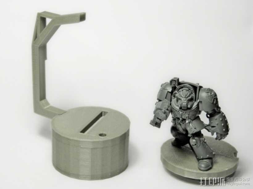 微型固定器 3D打印模型渲染图