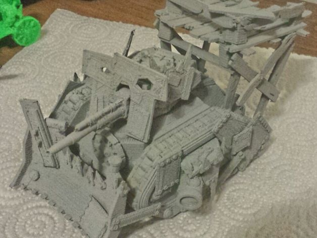 Loota工具包 3D打印模型渲染图