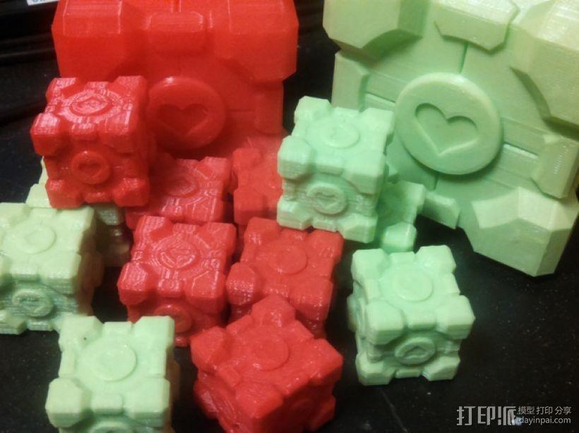 超重量级二阶魔方 3D打印模型渲染图