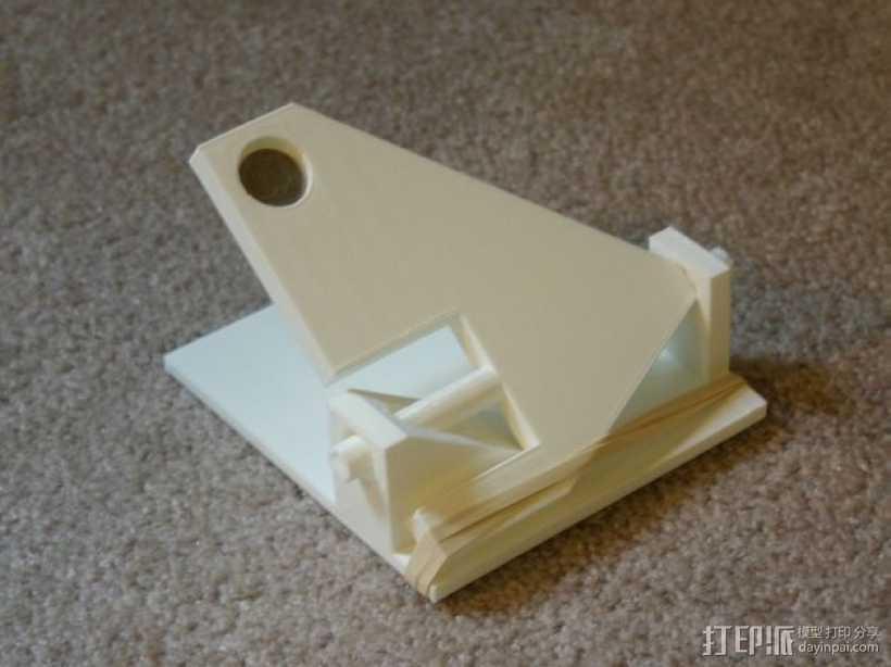 弹弓 3D打印模型渲染图