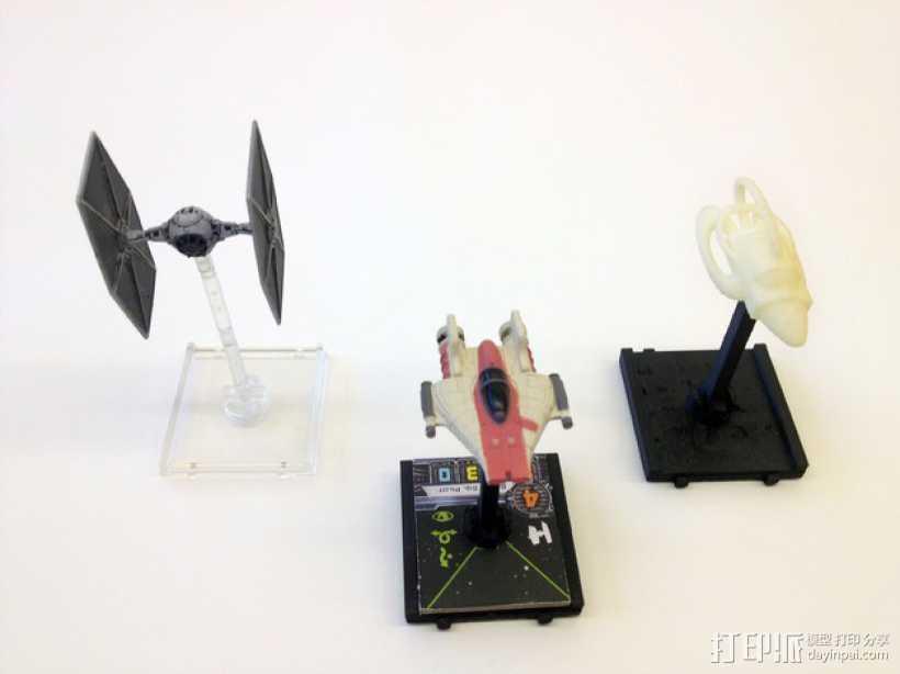 飞行基地 + 宇宙飞船 3D打印模型渲染图
