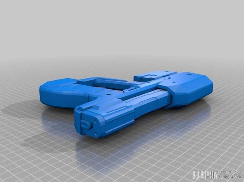 单兵防卫武器系统 3D打印模型渲染图