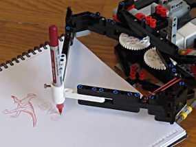EV3画图机器人笔座