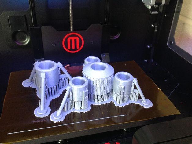 Ecig着陆器 3D打印模型渲染图