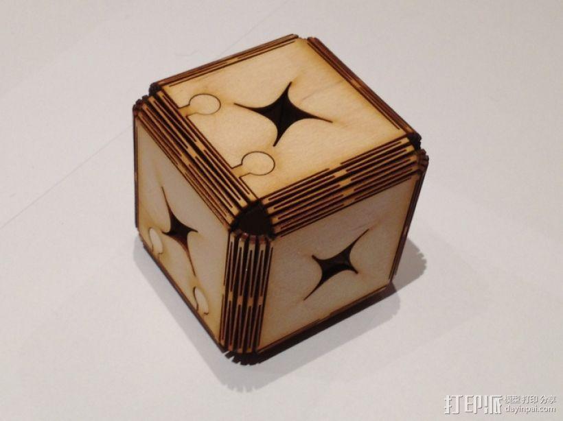 立方体拼图 3D打印模型渲染图