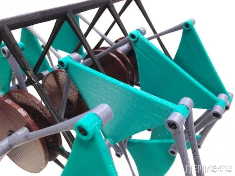 风行机械兽 3D打印模型渲染图