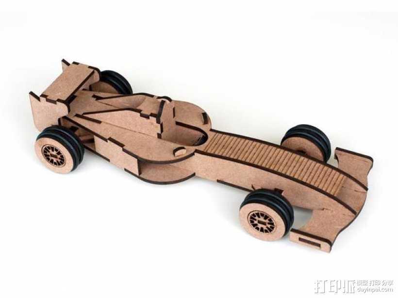 Formula 1赛车 3D打印模型渲染图