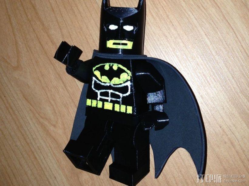 迷你蝙蝠侠 3D打印模型渲染图