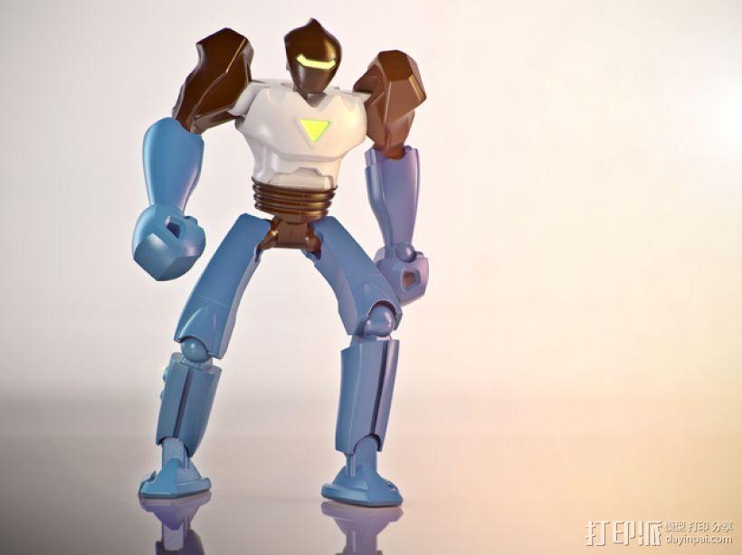 Vertex机器人 3D打印模型渲染图