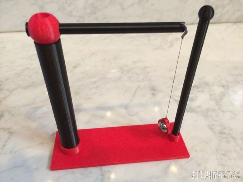 摆球 3D打印模型渲染图