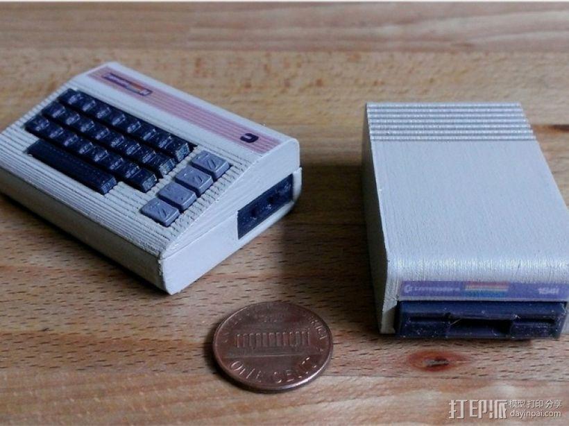 磁盘驱动器 3D打印模型渲染图