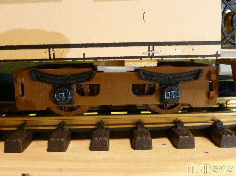 火车模型 3D打印模型渲染图