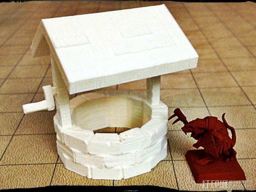 石井 3D打印模型渲染图