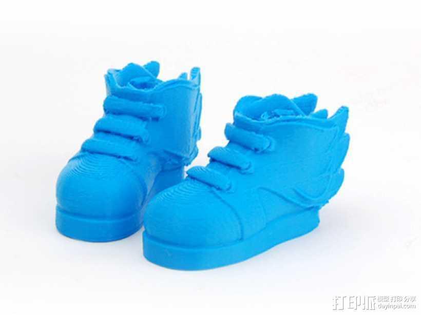 Makies鞋子 3D打印模型渲染图