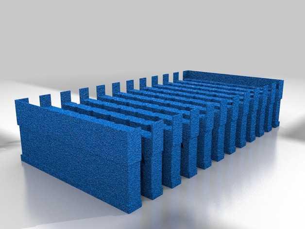 硅胶飞镖镖尖制作模具 3D打印模型渲染图