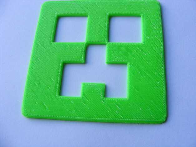 爬行者杯垫 3D打印模型渲染图