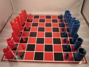 带有艺术气息的象棋