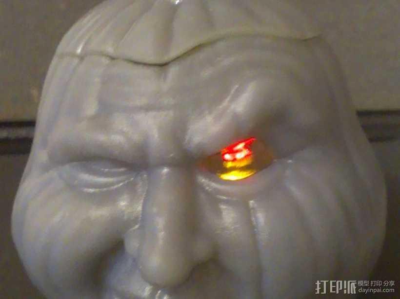 空心南瓜灯2 3D打印模型渲染图