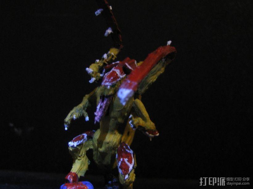 战锤:泰伦虫族 3D打印模型渲染图