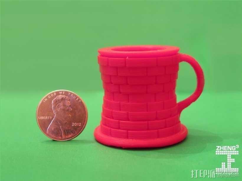 Seej钱币收纳杯 3D打印模型渲染图