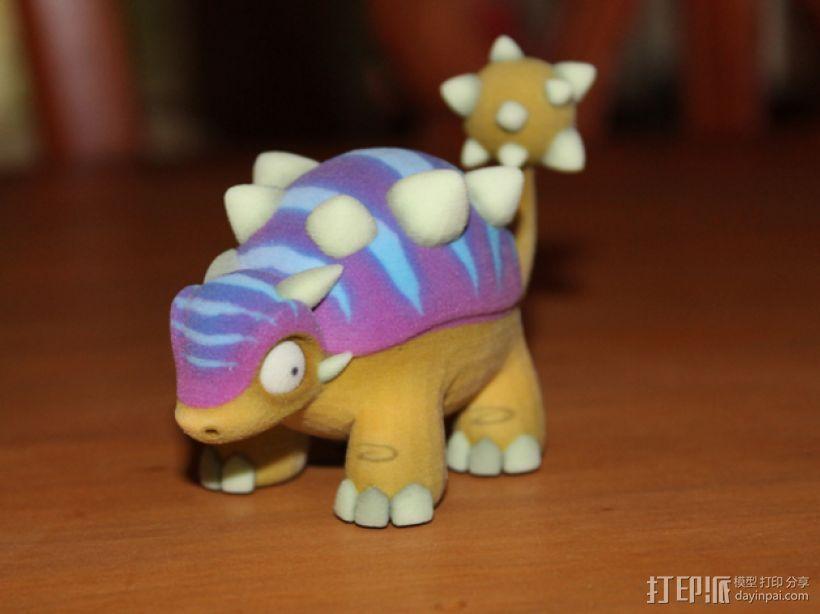 迷你包头龙模型 3D打印模型渲染图
