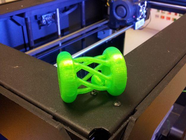 宝贝摇铃 3D打印模型渲染图