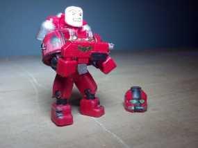 可伸缩定制的星际战士