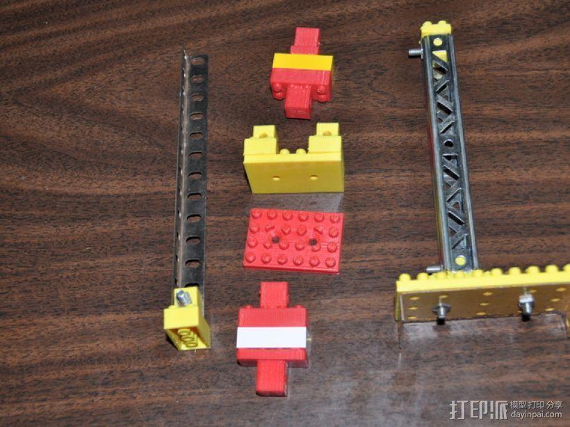 乐高建筑拼装玩具 3D打印模型渲染图