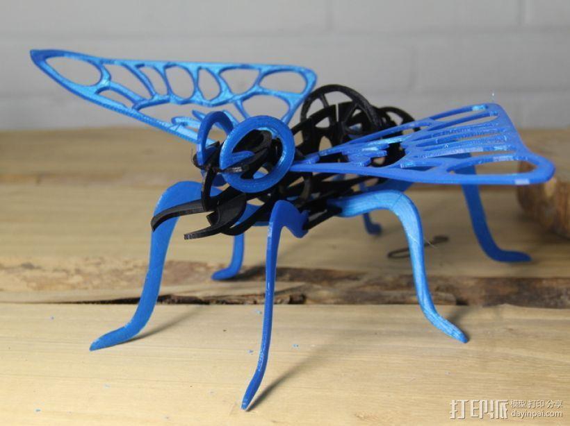 东宝:摩斯拉飞蛾 3D打印模型渲染图