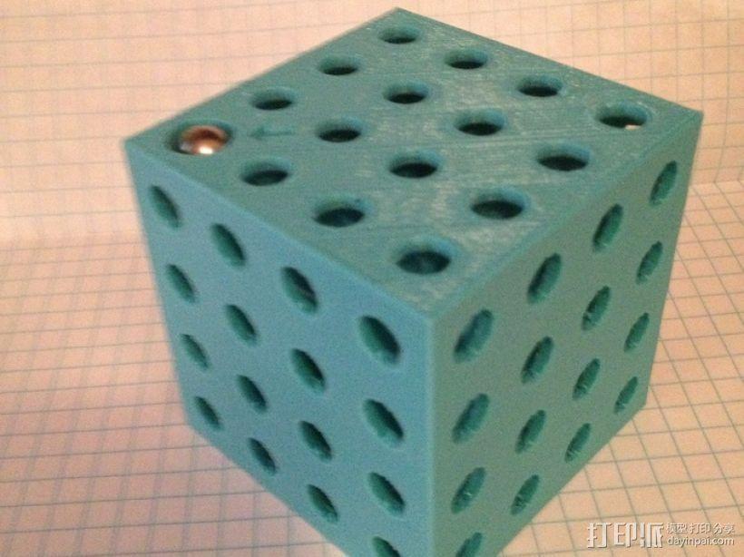 3D重力球迷宫 3D打印模型渲染图