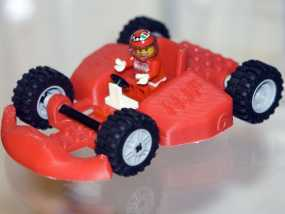乐高玩具赛车