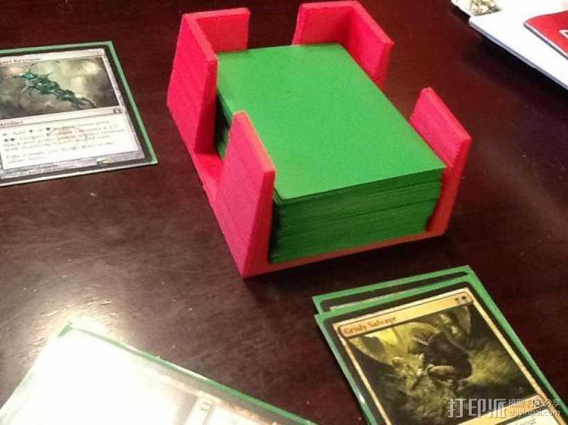 游戏卡套 3D打印模型渲染图