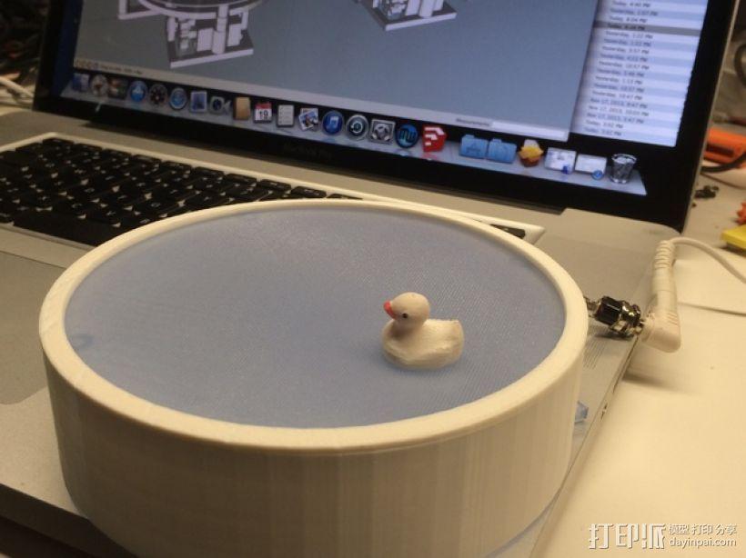 鸭子池塘 3D打印模型渲染图