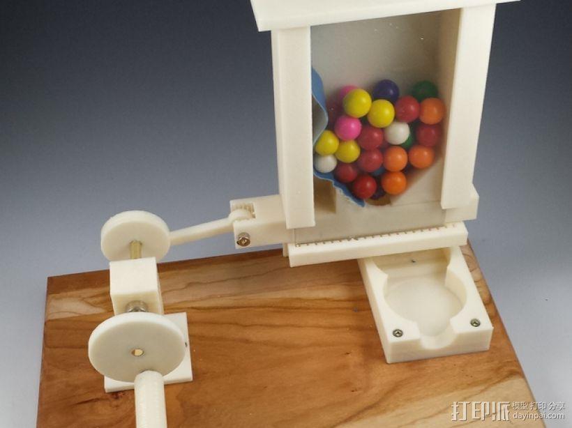 迷你糖果机 3D打印模型渲染图