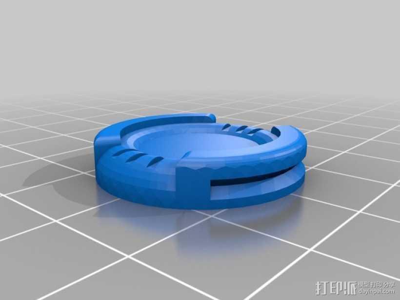 微型基地2 3D打印模型渲染图