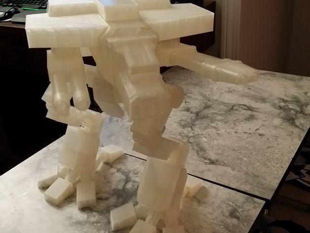 金星版本的战犬泰坦 3D打印模型渲染图
