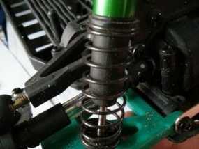 遥控赛车的低前悬吊结构臂