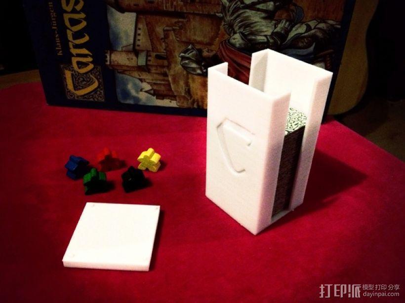 卡卡颂卡片收纳盒 3D打印模型渲染图