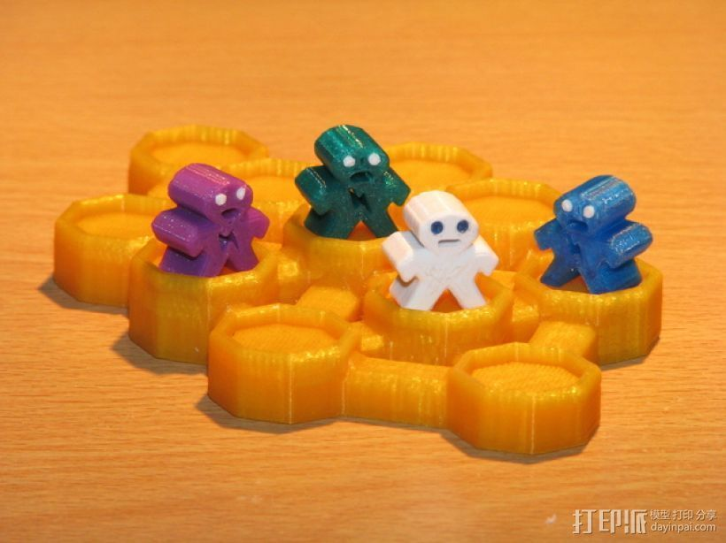 僵尸启示录模型 3D打印模型渲染图
