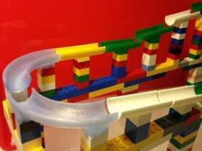 乐高滚珠轨道模型
